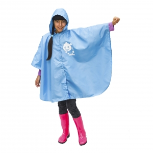 Дитячий дощовик-пончо