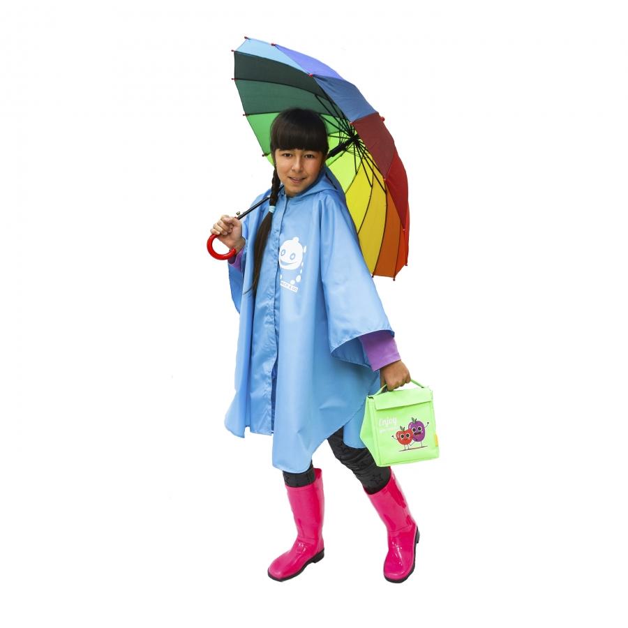 Детский дождевик - пончо
