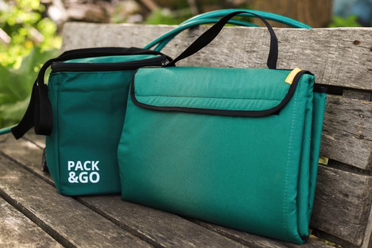 Комплект Килимок для пікніка і пляжу+ Lunch Bag Multi