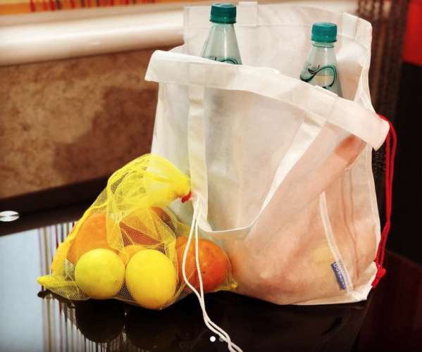Эко сумка (торба) со спанбонда