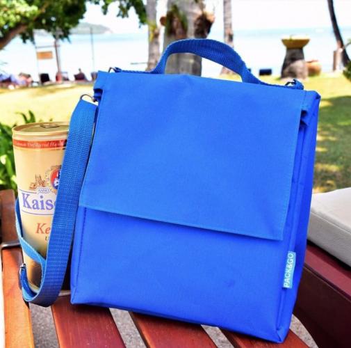 Термосумка ланч бэг Lunch Bag L+ без логотипа