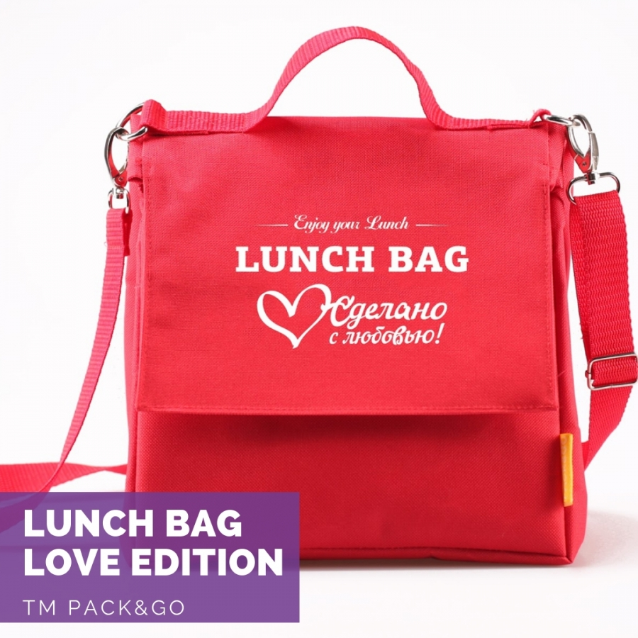 Lunch Bag (L+) праздничный Love edition