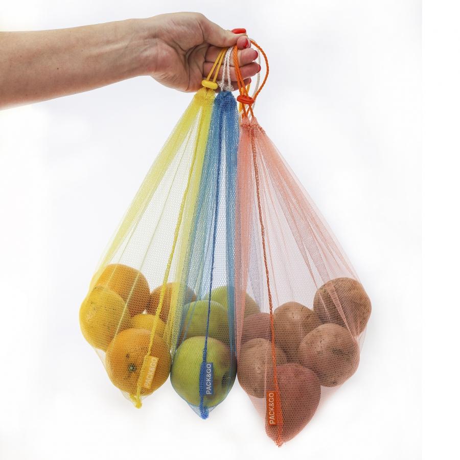 Багаторазові сітки для продуктів