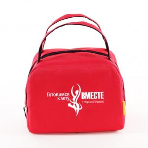 Lunch Bag (ZIP) корпоративный заказ (лого компании, брендированные термосумки)
