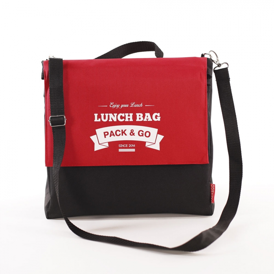 Термосумка ланч бэг Lunch Bag L+ увеличенный