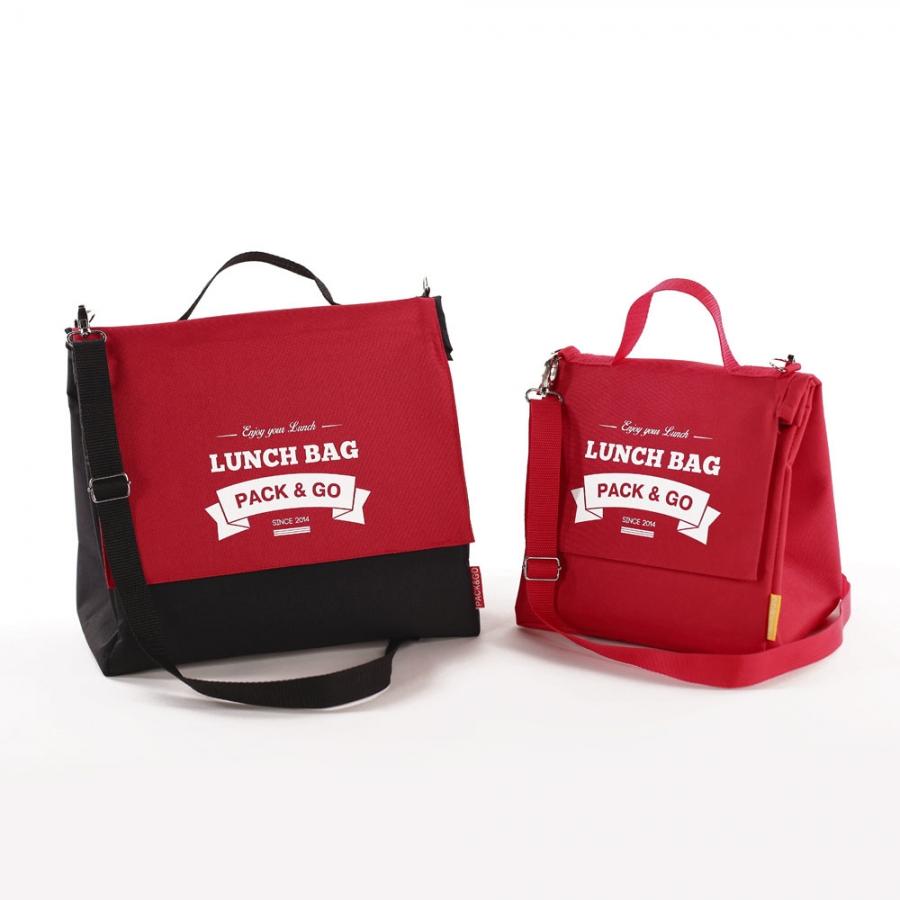 Термосумка ланч бег Lunch Bag L+ збільшений